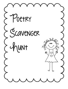 Poetry Scavenger Hunt Project