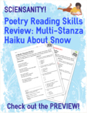 Poetry Skills Review: Multi-stanza haiku about snow and co