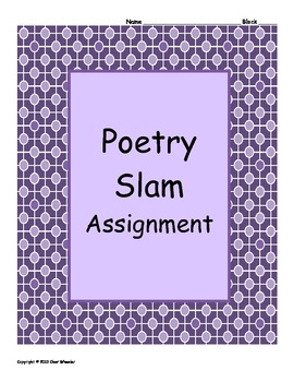 Poetry Slam Assignment
