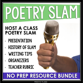 poetry slam writing by presto plans teachers pay teachers. Black Bedroom Furniture Sets. Home Design Ideas