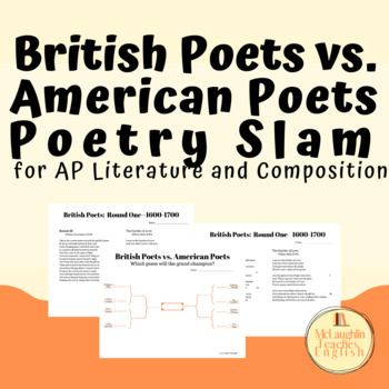 Poetry Slam for AP Literature Poetry Analysis