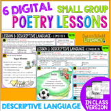 Poetry Small Group Reading Lessons: DESCRIPTIVE LANGUAGE-