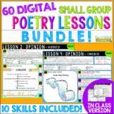 Poetry Small Group Reading Lessons: GROWING BUNDLE- Digita