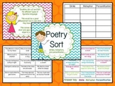 Poetry Sort-similes, metaphors, and personification