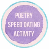 Poetry Speed Dating Activity