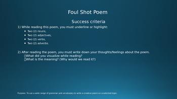 Poetry Starter