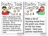 Poetry Station Task Cards