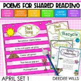 SEESAW Preloaded Poetry: Poems for April