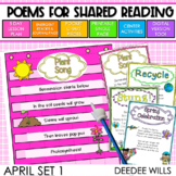 Poetry | Poems 1 for April | Printable and Digital