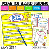 Poetry | Poems 1 for May | Printable and Digital