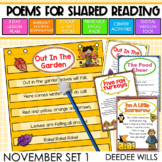 Poetry: Poems for November