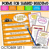 SEESAW Poetry: Poems for October