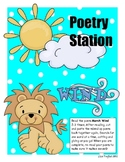 Poetry Station for March Wind