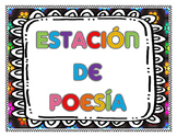 Poetry Station in Spanish