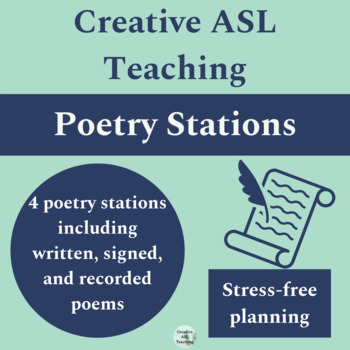 Poetry Stations American Sign Language - ASL