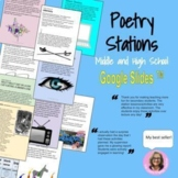 Poetry Stations : For High School and Middle School Digital Activity