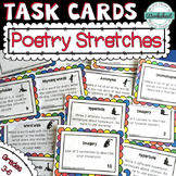 Poetry Stretches--52 Task Cards to Prepare Students for Writing Poetry