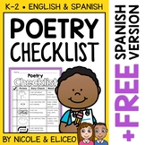 Poetry Writing Checklist