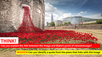 Poetry Study: London, William Blake: Independent Study Guide (ebook)