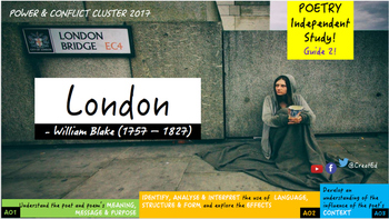 Poetry Study: London, William Blake: Independent Study Gui
