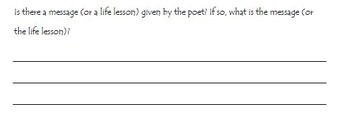Poetry Study/ Report for Elementary Readers