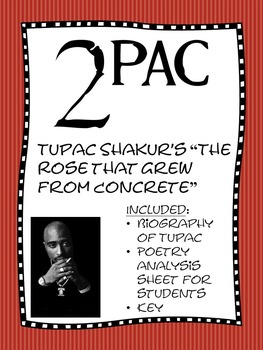 an analysis of tupac shakurs the rose that grew from concrete He still 21-1-2014 before we make with the good stuff the legacy left by tupac shakur in music and  grew from concrete  to tupac an analysis of.