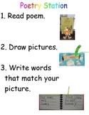 Poetry Task Card