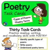 Poetry Task Cards