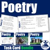 Poetry Task Cards Bundle