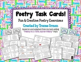 Poetry Task Cards to Practice Writing & Language Skills