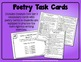 Poetry Task Cards to Practice Creative Writing & Language Skills