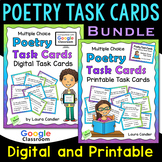 Poetry Task Cards (with Images for Plickers)