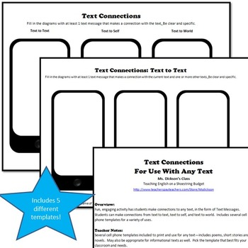 Poetry Teacher Toolkit for Teaching Poetry (Use With Any Poem) Word