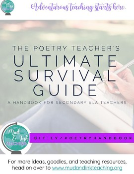 Poetry Teacher's ULTIMATE SURVIVAL GUIDE:  A Handbook for