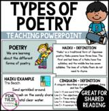 Poetry - Teaching PowerPoint Presentation