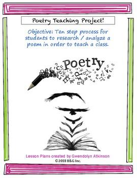 Poetry Teaching While Slamming