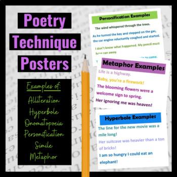 Poetry Technique Posters