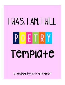 Poetry - I am, I was, I will... Updated!