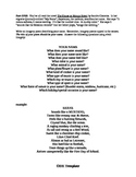 Poetry Templates - 18 templates for poetry made easy!