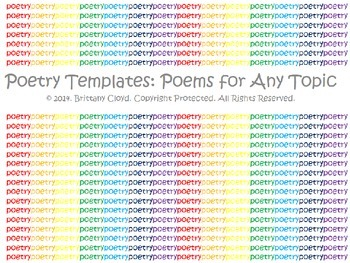 Poetry Templates Outlines Construct Poem Biographical Epitaph Haiku I Wish