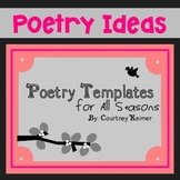 Poetry Templates for All Seasons