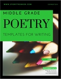 Poetry Templates for Middle Grades