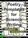 Poetry Templates for Science Writing