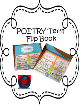 Poetry Term Flipbook