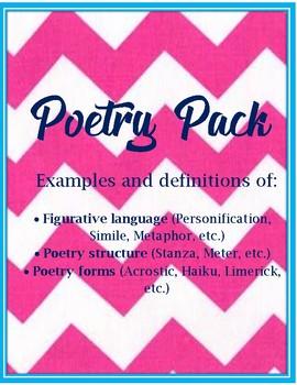 Poetry Pack