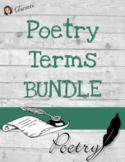 Poetry Terms Bundle
