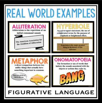 POETRY TERMS FIGURATIVE LANGUAGE PRESENTATION