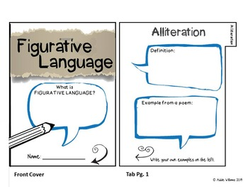 Figurative Language Flip Book / Interactive Notebook