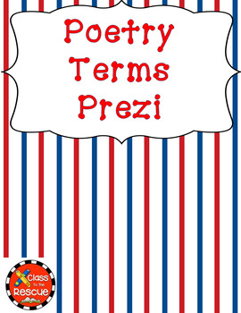 Poetry Terms  Prezi