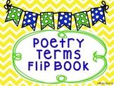 Poetry Terms Flip Book- Interactive Notebook